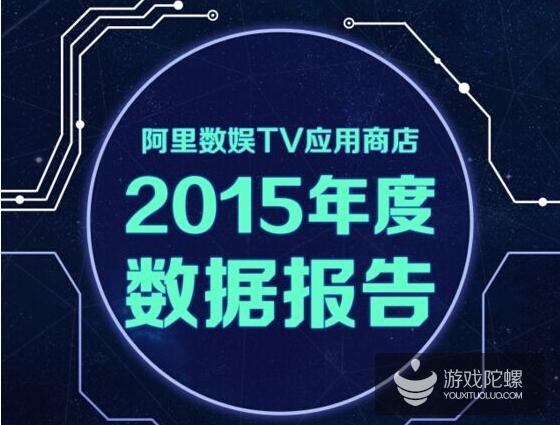 阿里数娱TV应用商店2015年数据:1.95亿下载量,1293万活跃用户