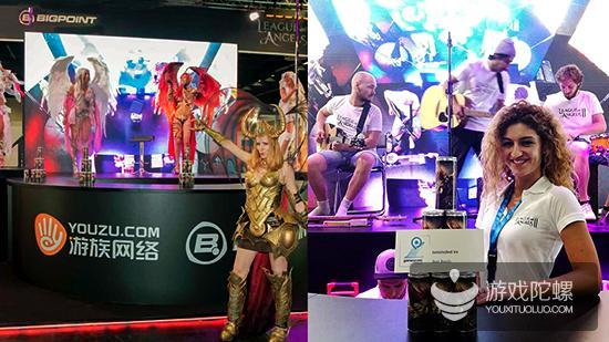 游族携Bigpoint亮相德国科隆展  共推《女神联盟2》