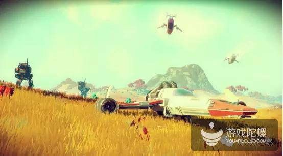 两周营收超3亿元,《无人深空》被喷出翔,成年度最具争议游戏