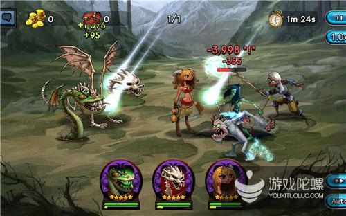 这款RPG手游玩家超900万,Gree计划靠电视广告+主播再推广