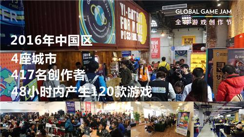 2017 Global Game Jam全球游戏创作节中国区站点招募