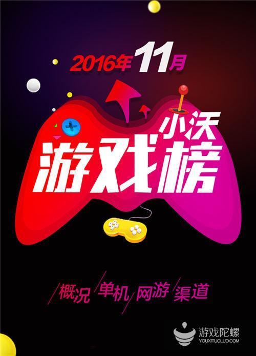 小沃科技11月数据报告:《开心消消乐》占据热度榜和收入榜第一