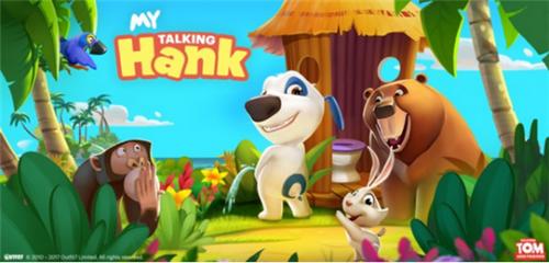 汤姆猫系列累计下载超56亿次 Outfit7推新作《会说话的汉克狗》