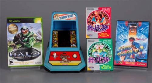 《大金刚》等四款游戏进入世界电子游戏名人堂