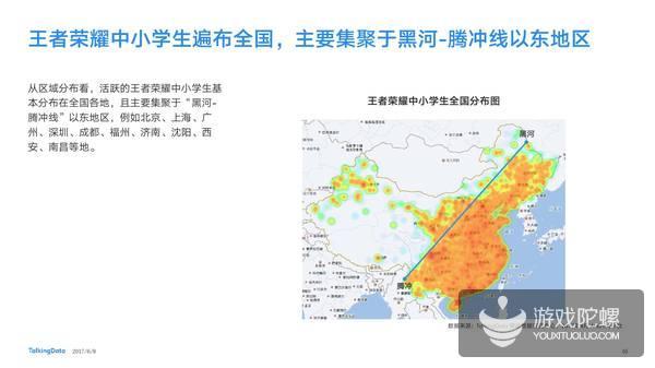 TalkingData《王者荣耀热点报告》:上班族7成 小学生不足3%