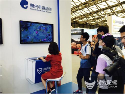 安全+服务 腾讯电脑管家游戏渠道首次亮相ChinaJoy获得巨大关注