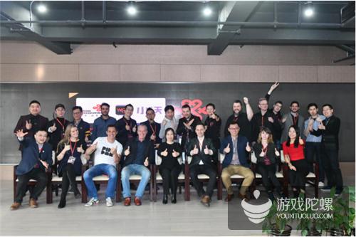 国际游戏名企代表齐聚小沃科技 狂赞国游顶端企业发展迅速
