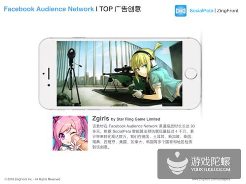 ZingFront 独家原创首发|2017年度全球移动游戏广告投放报告
