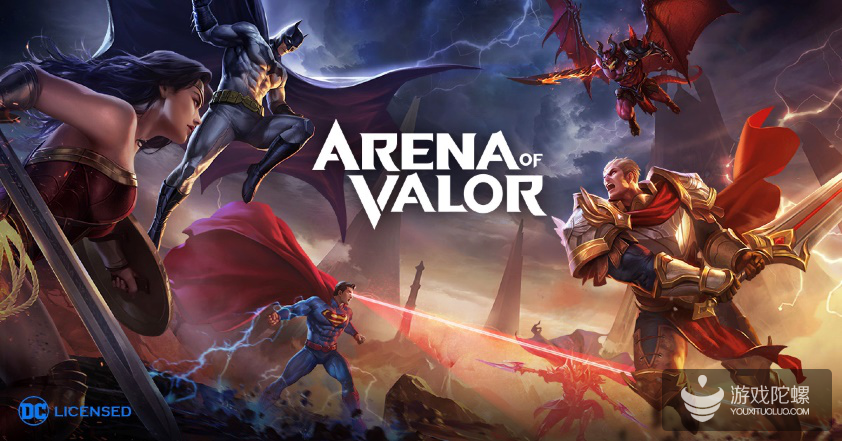 《Arena of Valor》(王者荣耀国际版)迈入体育后,移动电竞该有新玩法了!