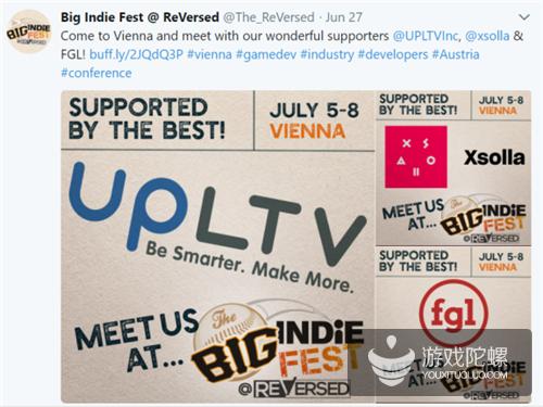 维也纳独立游戏节The Big Indie Fest @ ReVersed回顾