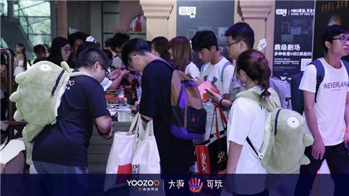 ChinaJoy开幕首日,铁王座亮相游族展台惊爆全场