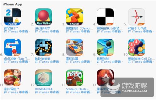 音乐类游戏盘点:去年至今,中美App Store共上架3000多款