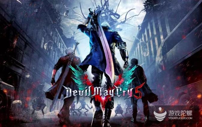 《鬼泣5》占据steam周销量榜第一,同时在线玩家数超《生化2重制》