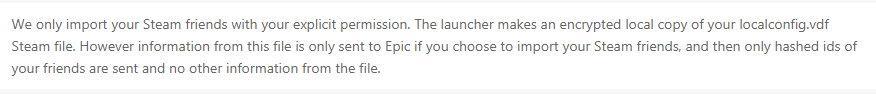 爆料称Epic Games平台暗中收集Steam用户好友和游戏记录