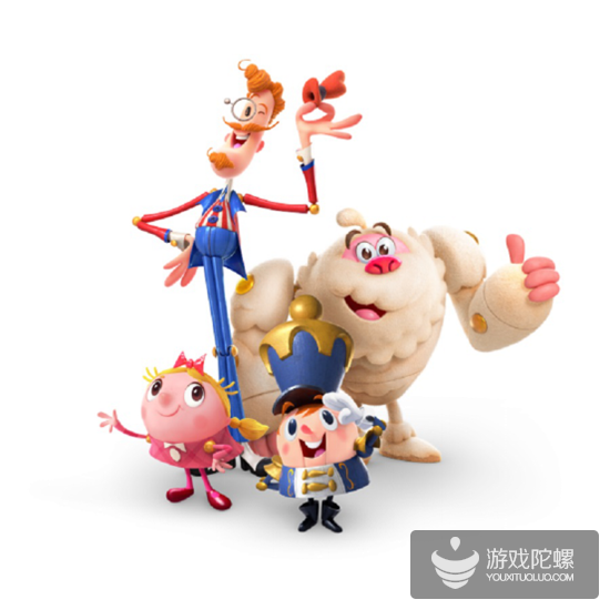 KING推最新《糖果好友传奇》,颠覆传统三消玩法