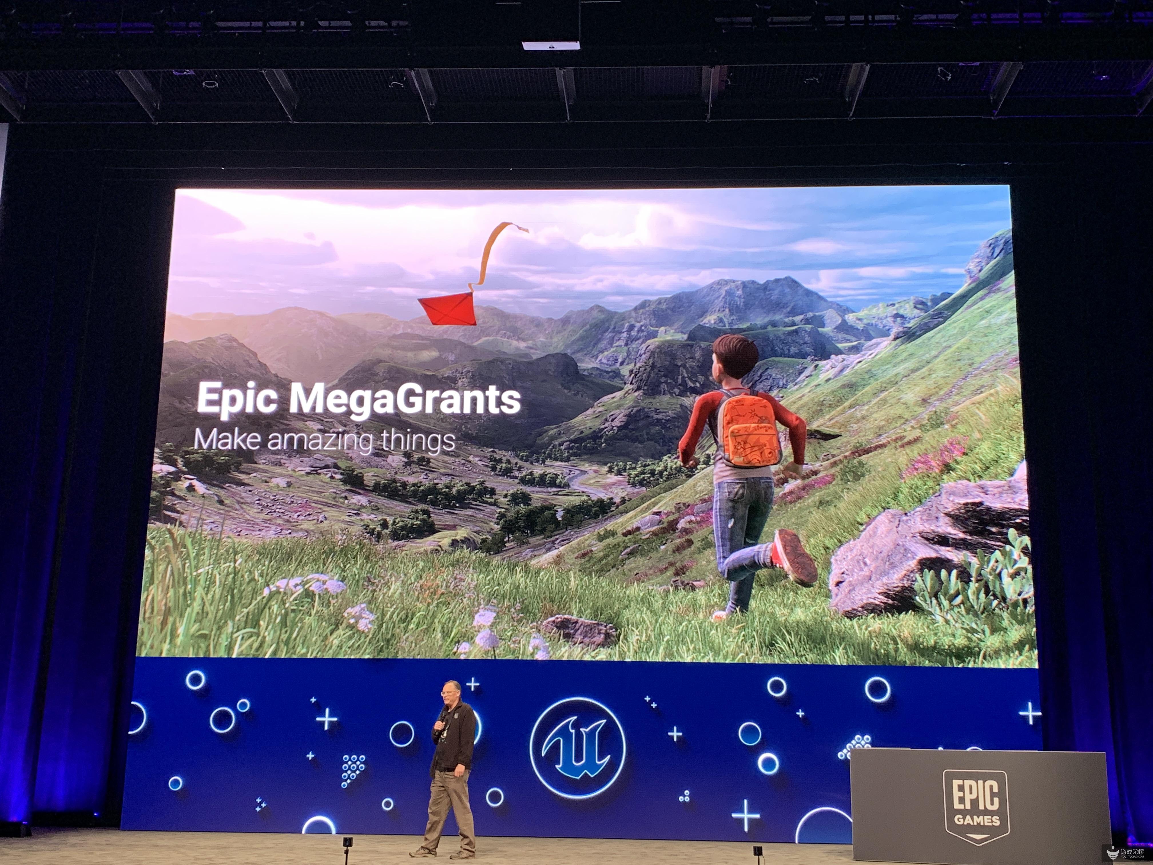 "【GDC2019】1亿美元!Epic Games推出新资助计划""MegaGrants""向开发者提供奖励"