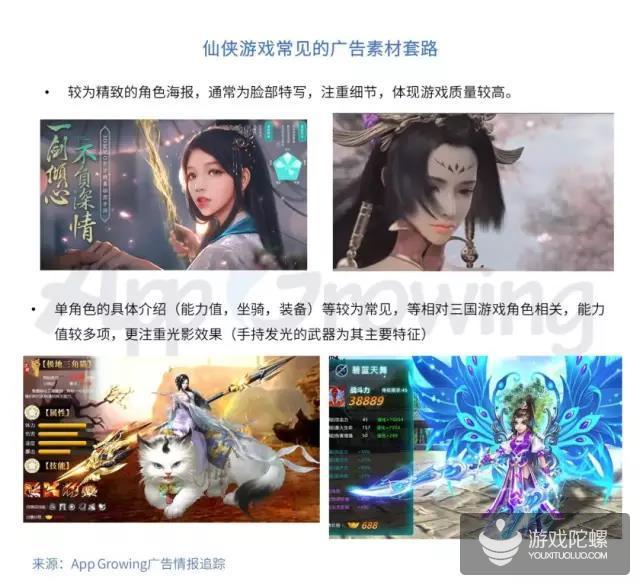 投放干货:复盘3月高曝光游戏素材,三国、仙侠最新买量套路