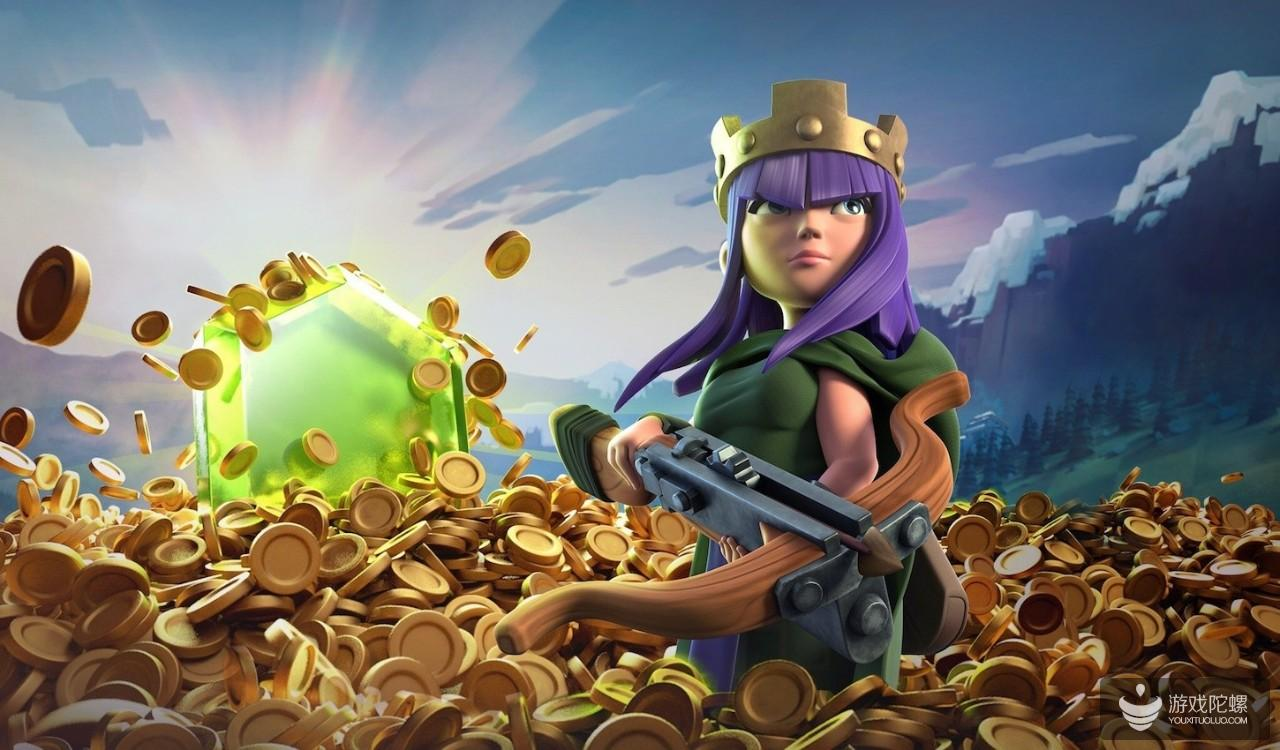 """《部落冲突》推出""""黄金令牌""""系统首周  为游戏带来145%收入增长"""