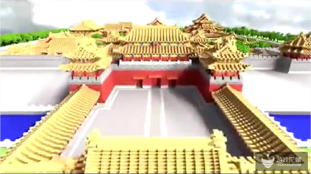 """""""最强大脑""""现场重现中国风建筑,《我的世界》承担传承文化角色"""