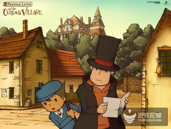 Level-5《雷顿教授与不可思议的小镇》手游版引入国内,由心动网络代理