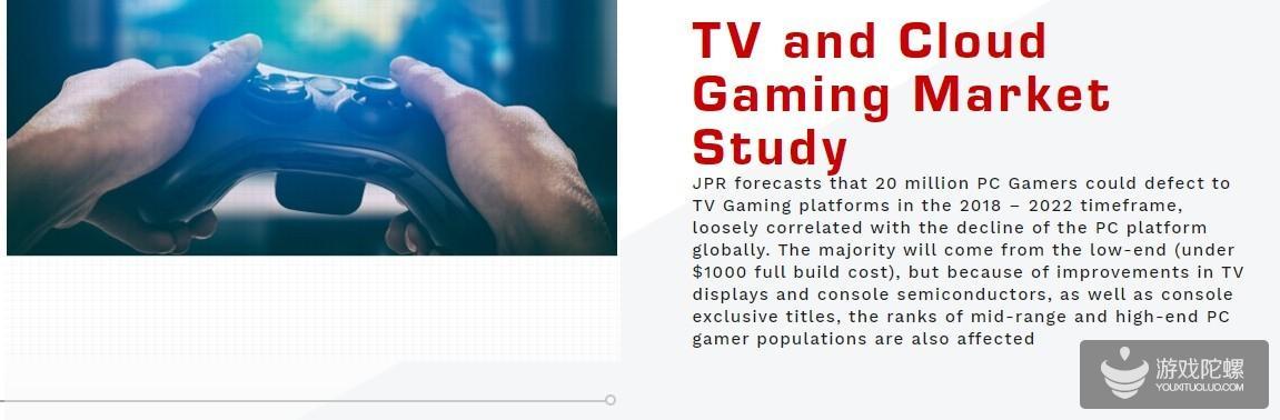 研究机构:未来大量PC玩家将转投主机 多为低端机用户