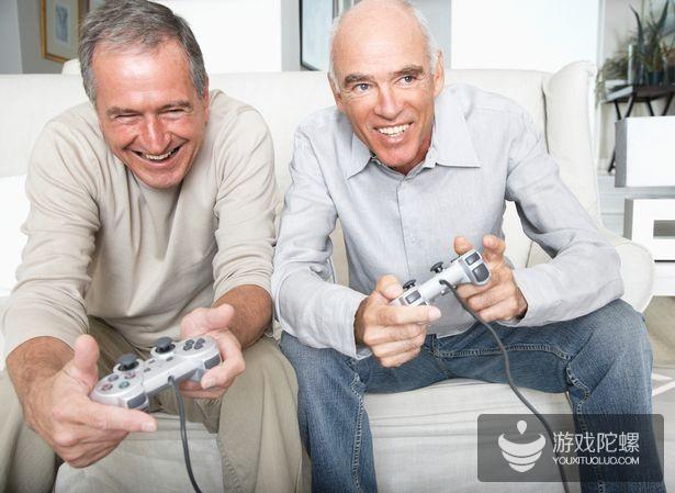 外媒:越来越多的老年人爱玩电子游戏