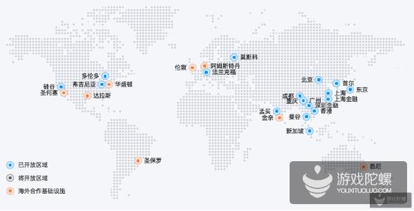 腾讯云已覆盖全球25个区域,游戏出海安全问题不可忽视