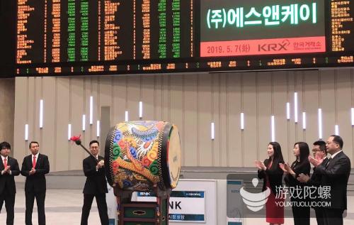 SNK韩国挂牌上市:创下外国企业最高市值纪录