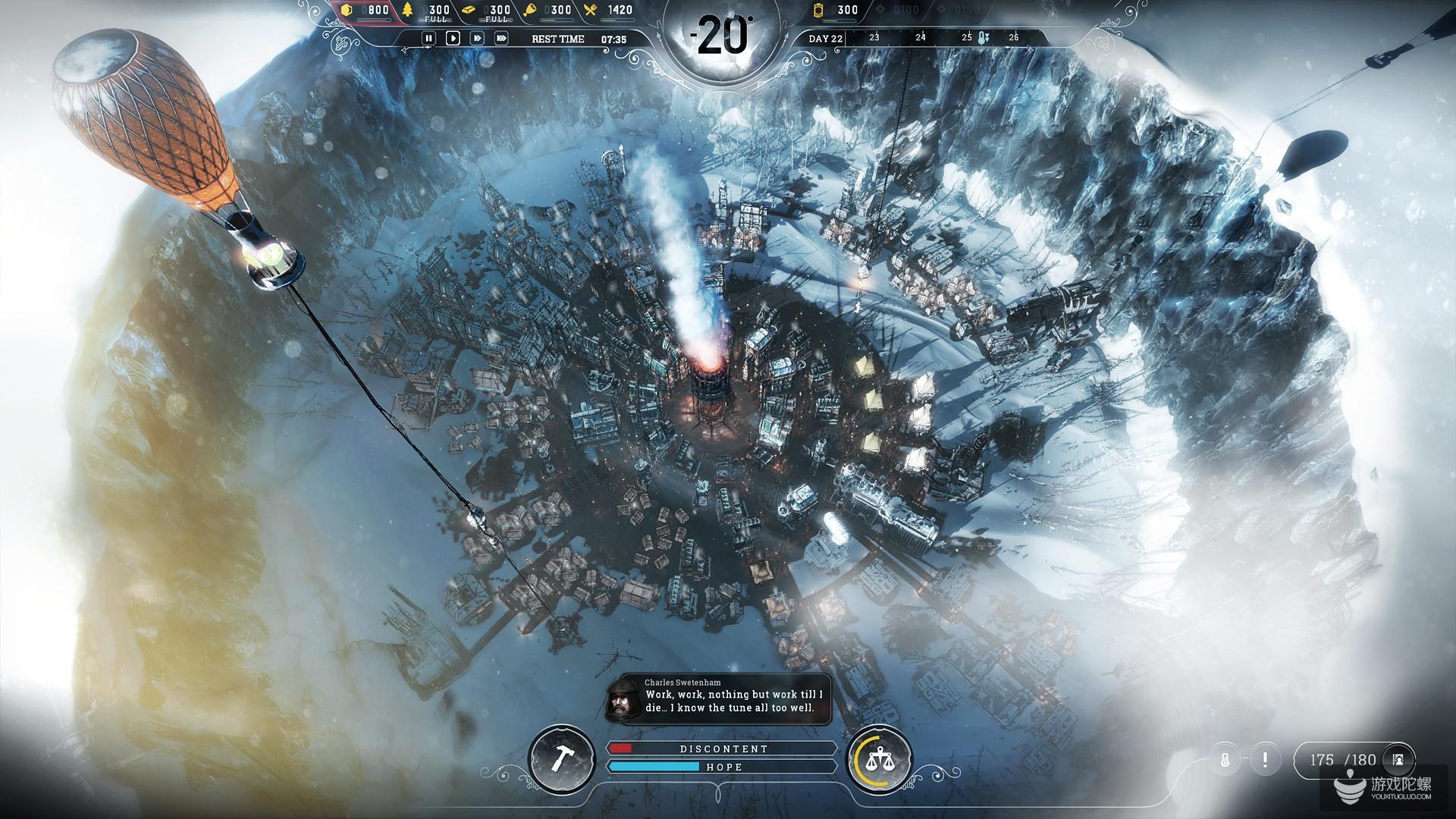 《冰汽时代》开发商:在开发《冰汽时代》的主机版本以及RPG