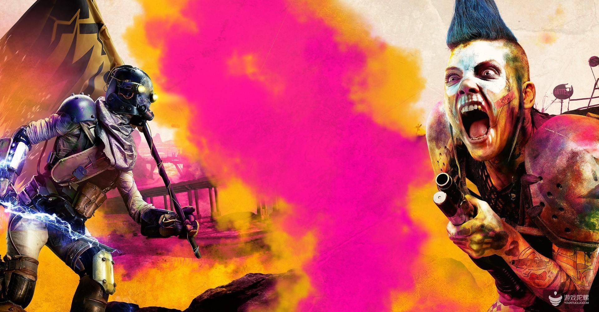 《狂怒》登顶英国实体版游戏销量榜 但首周实体版销量仅前作25%