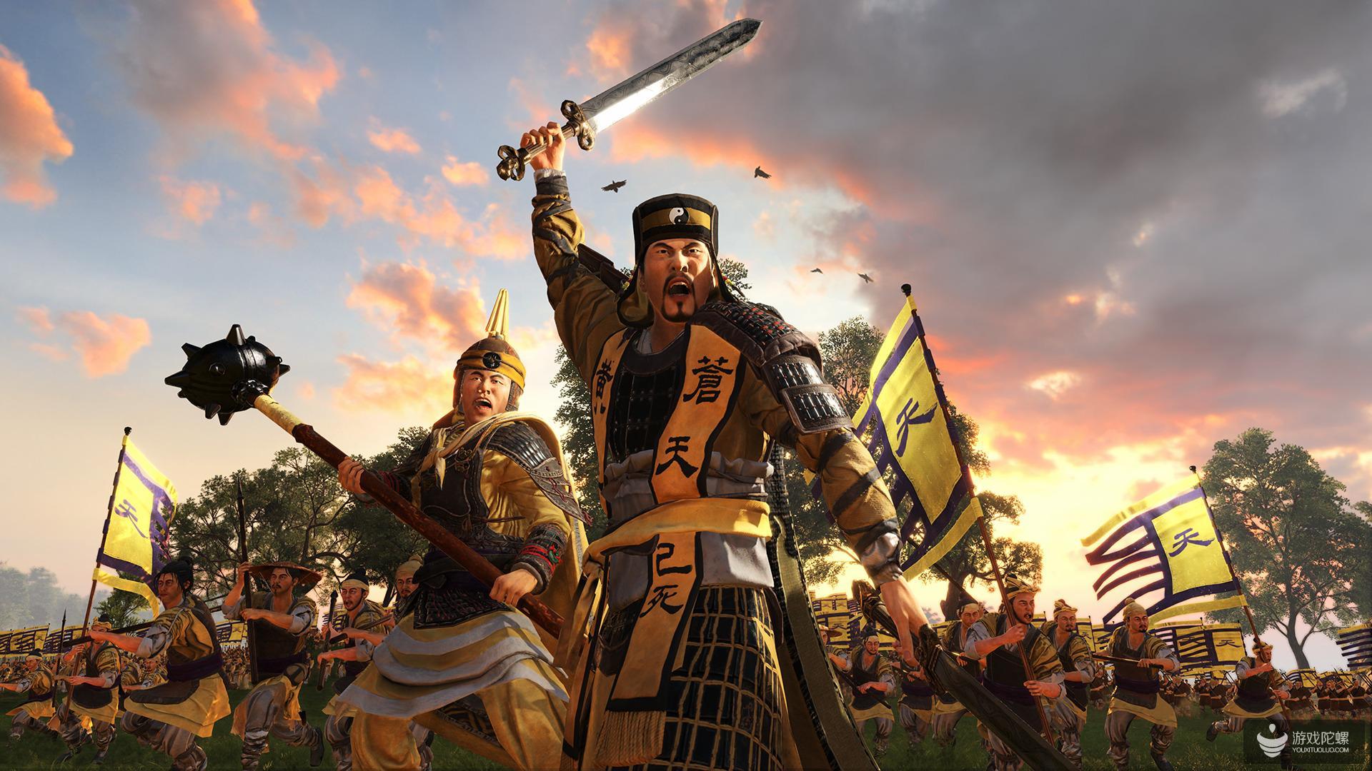 Steam周销量排行榜:《三国:全面战争》第一《雷霆一击》第二