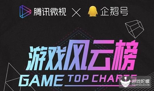 腾讯微视6月游戏风云榜单出炉 梦泪、骚白、难言勇夺前三