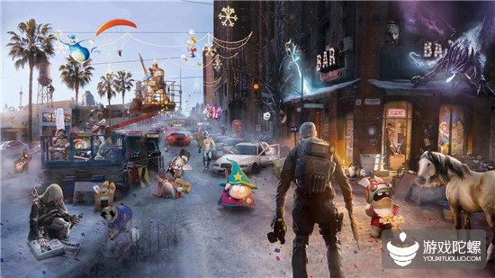 育碧一季度收入28亿人民币,《全境封锁2》居上半年全球销售榜首