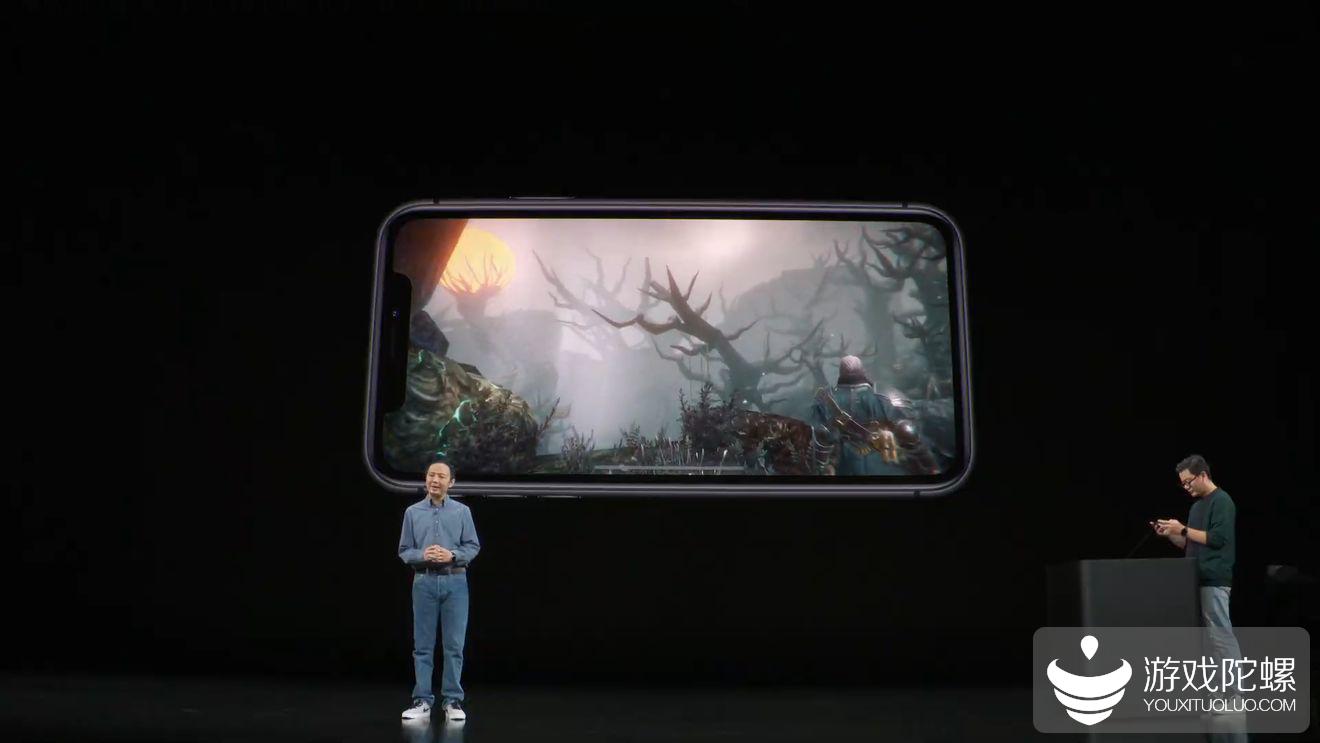 苹果发布会展示巨人网络暗黑风游戏《帕斯卡契约》