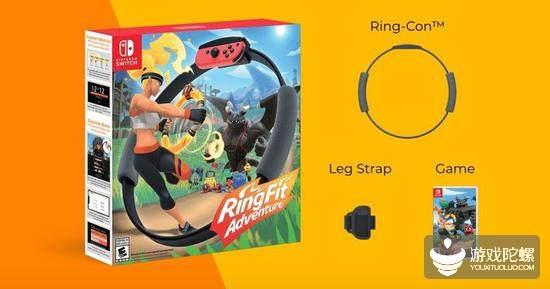 任天堂推出全新健身游戏《健身环大冒险》,专属环状配件Ring-Con登场