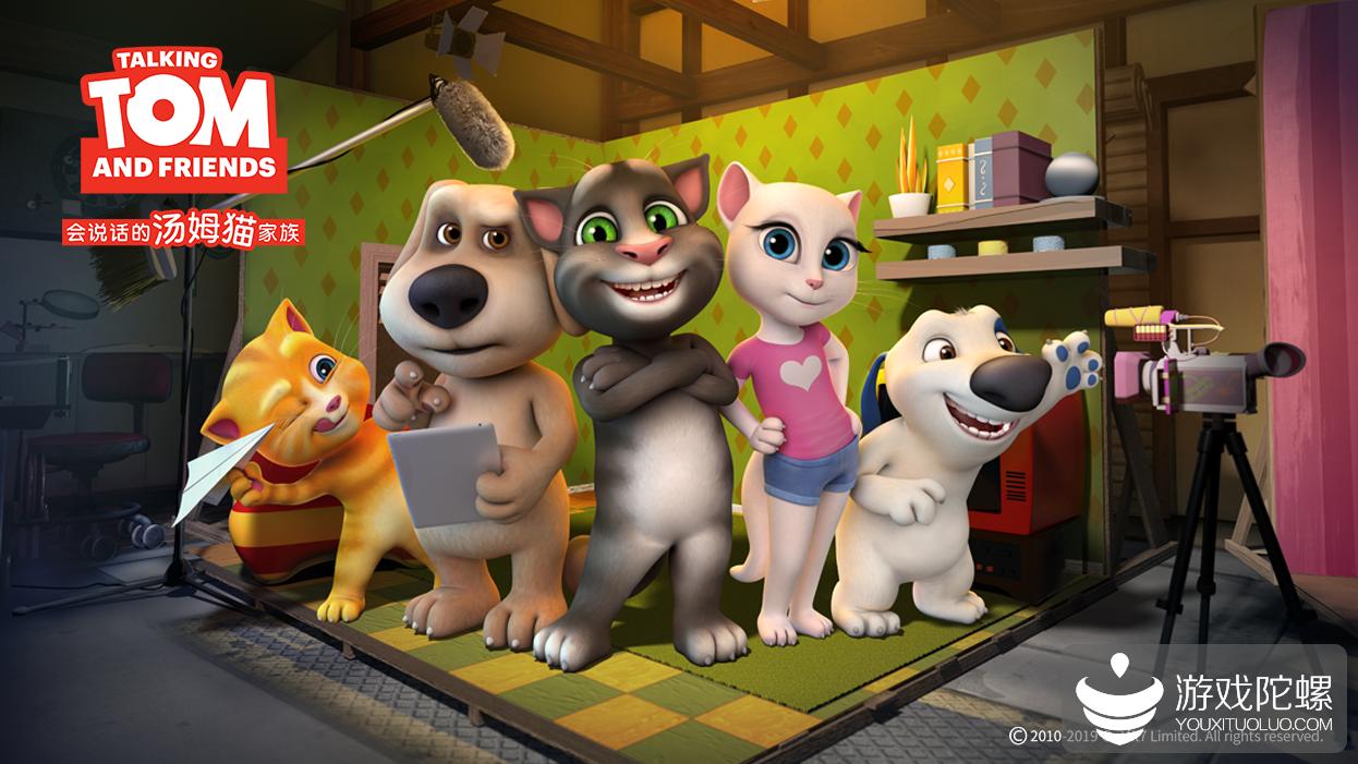 "Outfit7十年:""汤姆猫""系列获超百亿下载,IP影视化观看超400亿"
