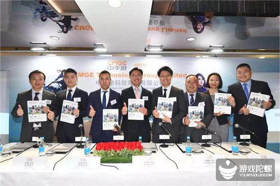 中手游10月底香港上市:包揽三项行业第一,上半年营收同比增长127%