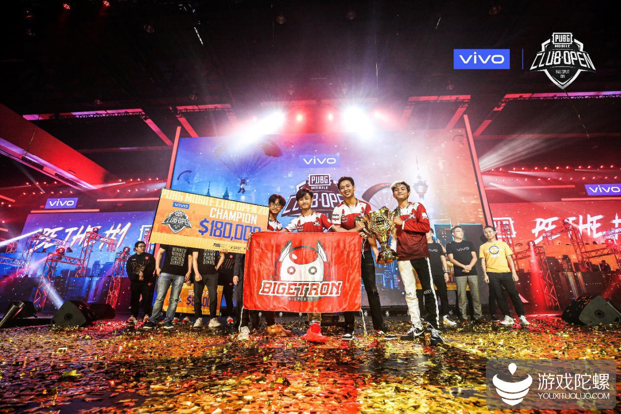 《PUBG Mobile》秋季全球总决赛落幕,印尼战队BTR夺冠,TES获亚军