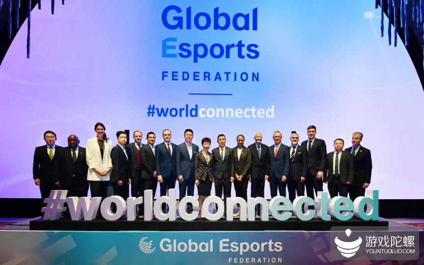 国际电子竞技联合会正式成立,腾讯成为全球首席创始合作伙伴