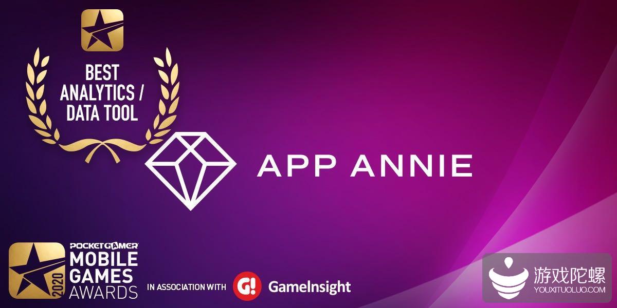 App Annie 荣膺 Pocket Gamer 2020 年最佳数据分析工具奖