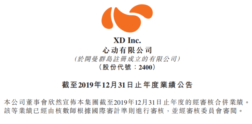 心动公司2019年财报:游戏营收23.76亿,同比增长50.2%,TapTap平台MAU 1790万