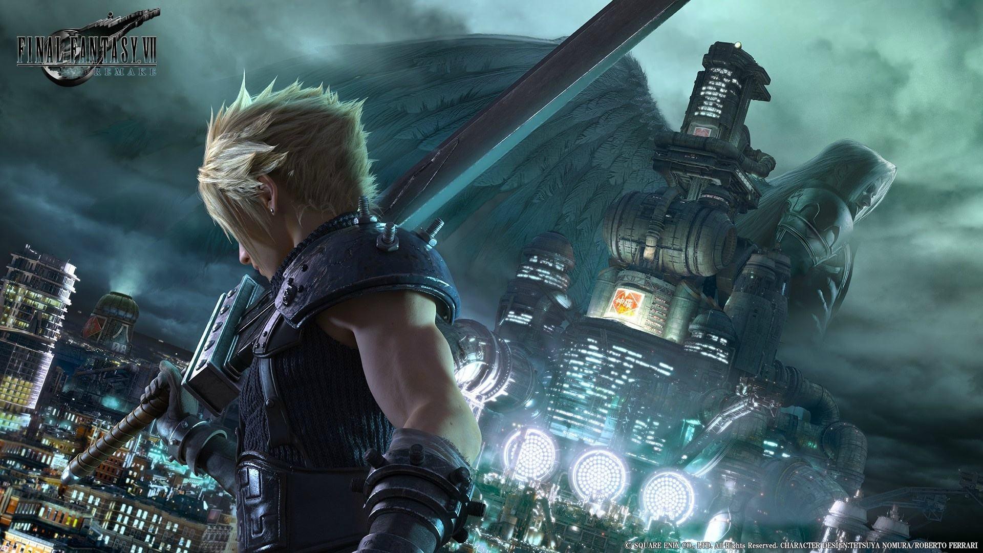 《最终幻想7重制版》:超像ACT的回合制游戏?