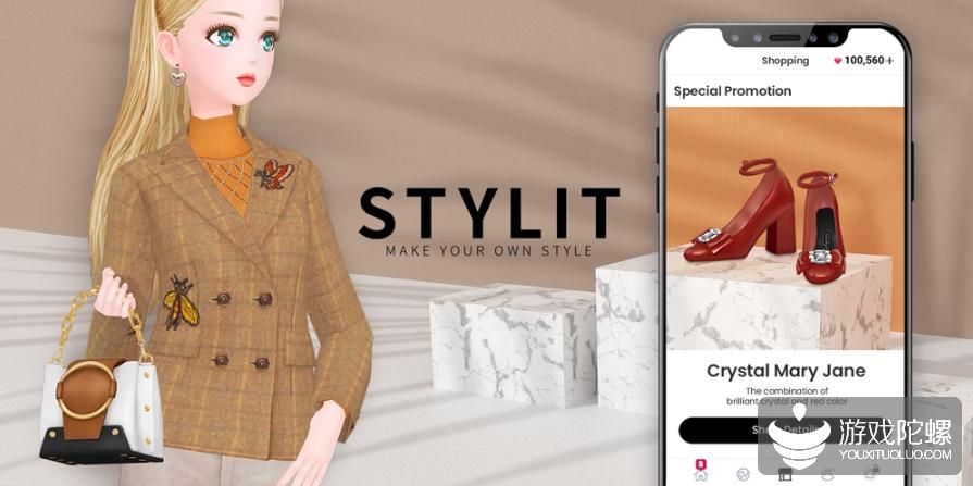 """换装游戏《Stylit》:韩国厂商做了一款""""线上虚拟社交购物软件"""""""