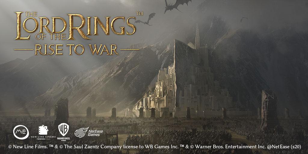 网易宣布与华纳兄弟合作,将研发《指环王》策略手游