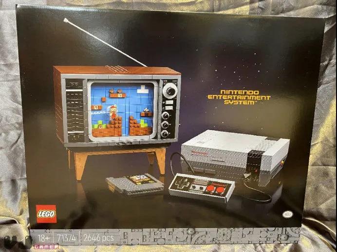 乐高和任天堂合作,新品售价229.99欧元
