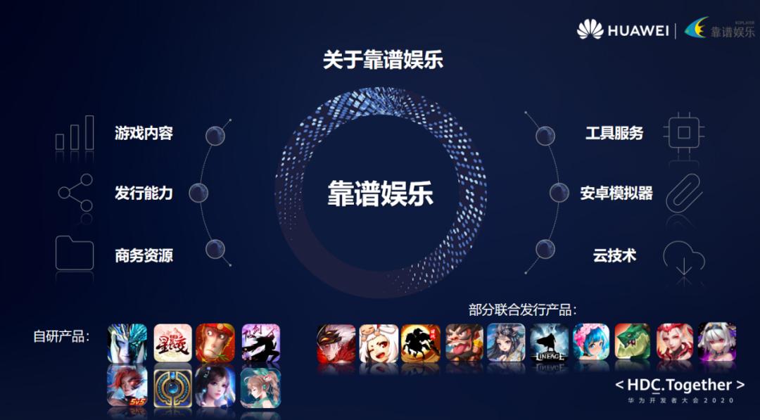 靠谱网络获华为HDC两项大奖 聚焦创新游戏生态服务