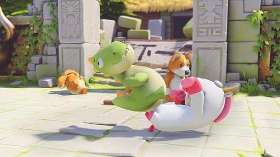 《动物派对》同时在线玩家数高达11万人,超越《糖豆人》
