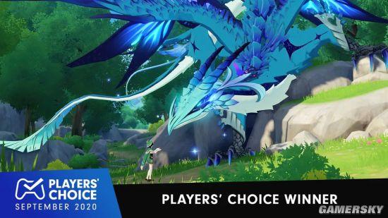 《原神》获9月PS玩家选择奖