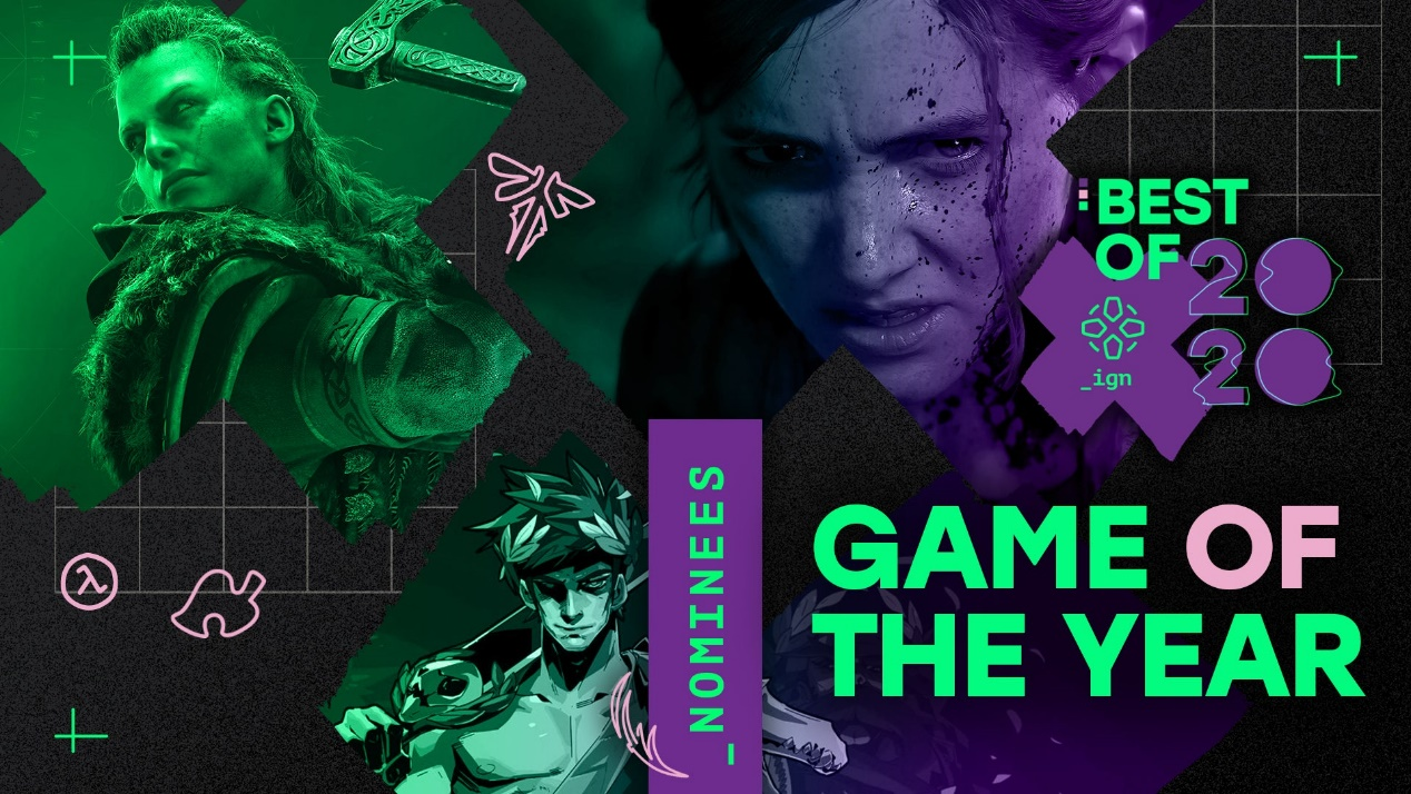 IGN公布年度游戏提名,《赛博朋克2077》入围多个奖项
