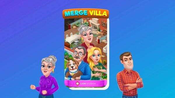 Lion Studios推出《Merge Villa》,实现您的理想之家